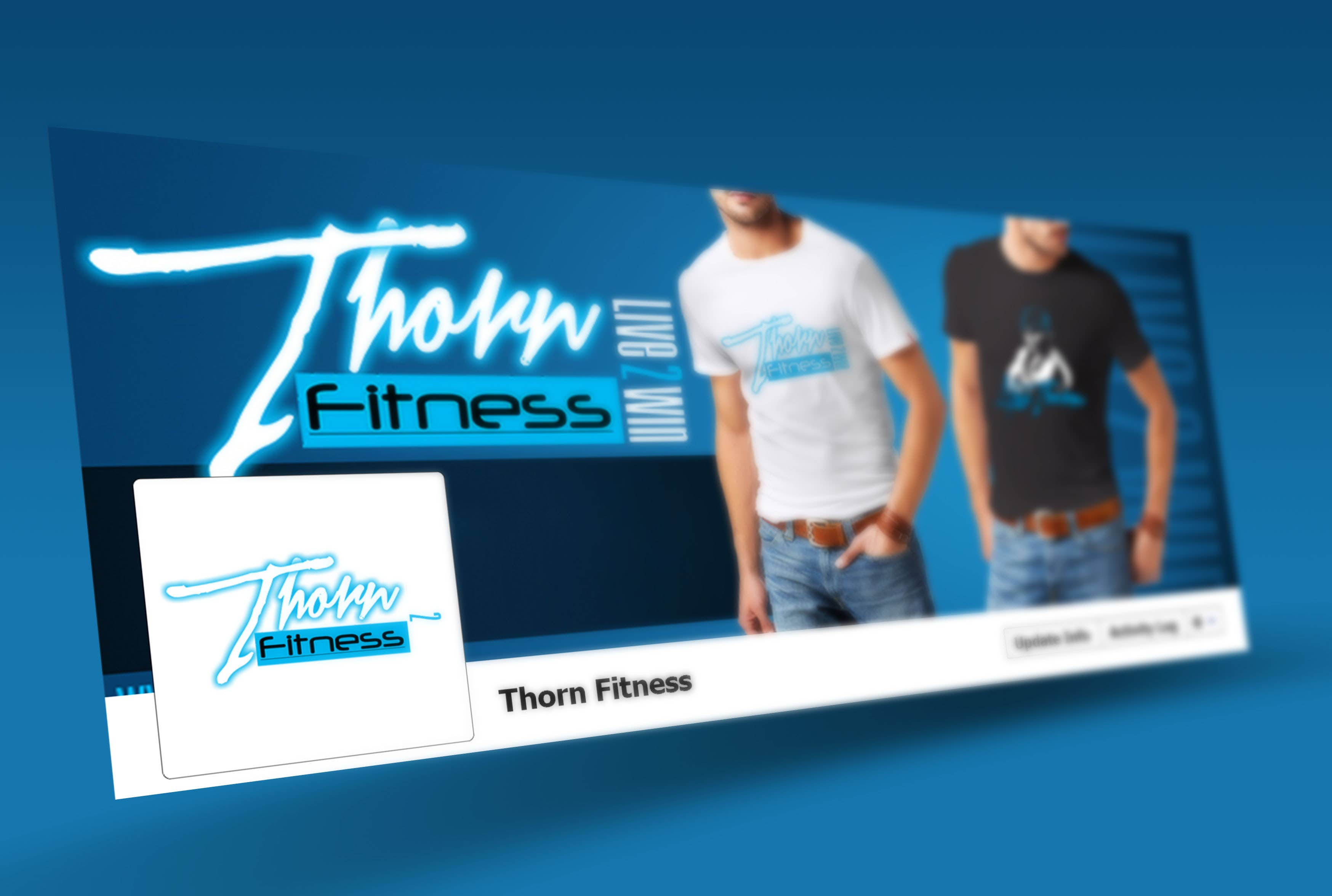 Facebook page cover design.