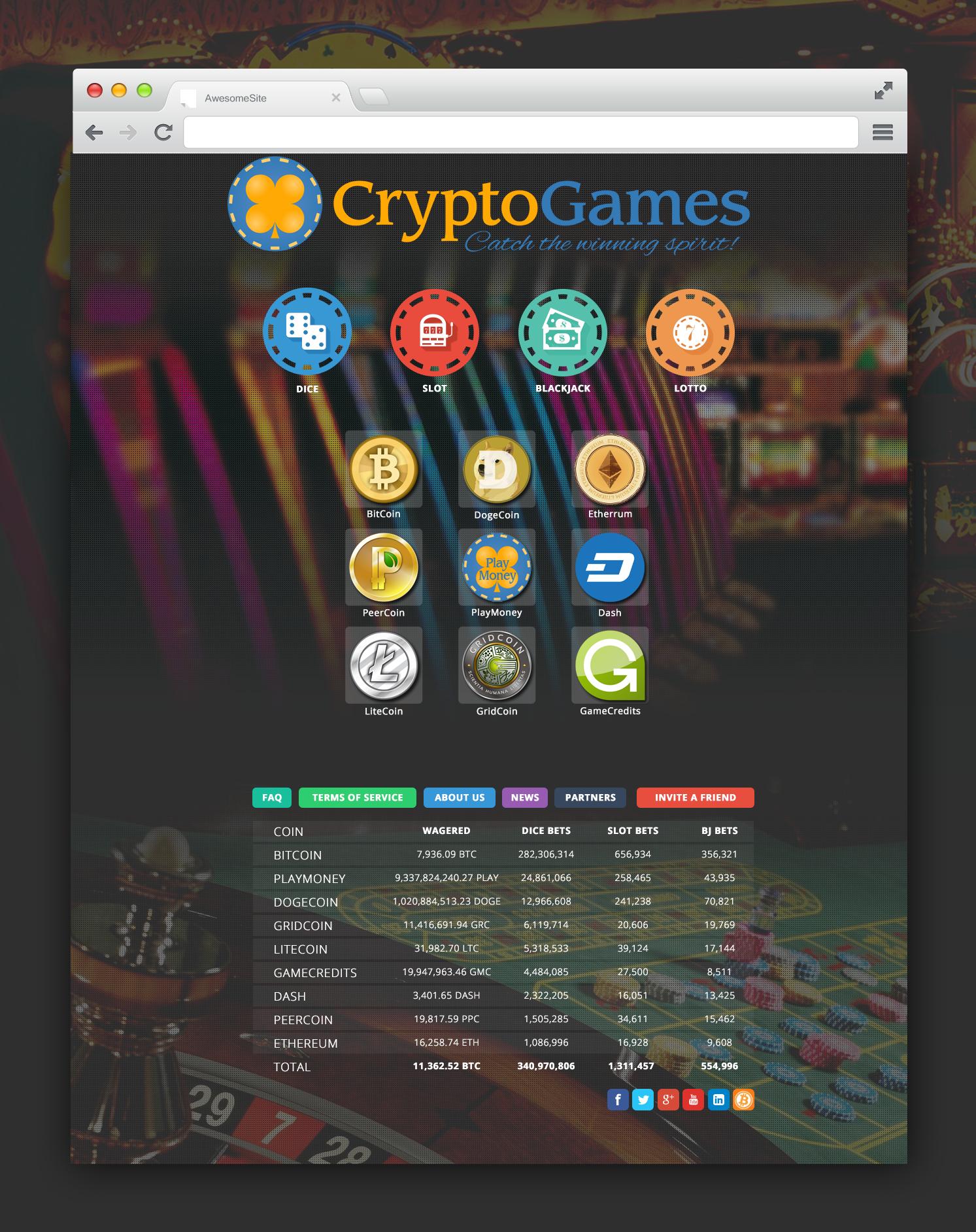 Design for CryptoGames