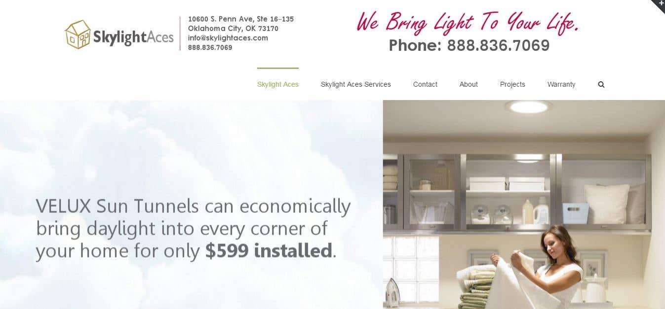 Skylight service company - http://skylightaces.com/