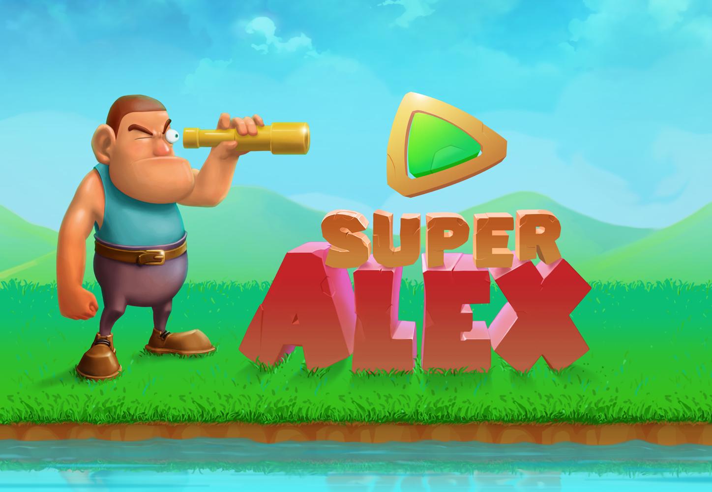 Super Alex Game Splash