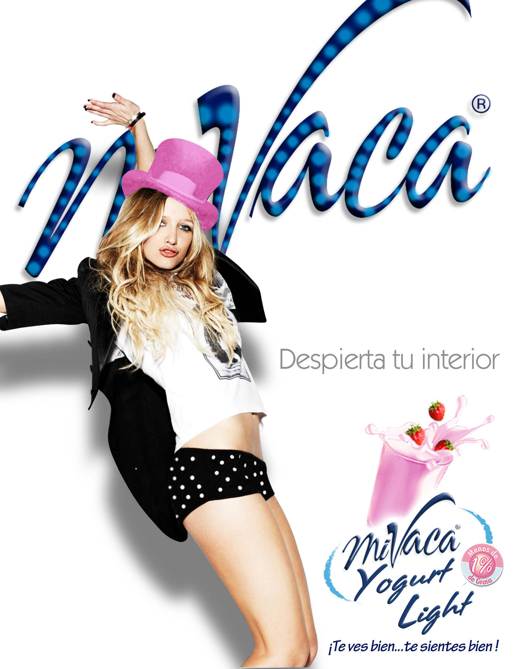 Campaña Publicitaria de Yogurt Mi Vaca Light