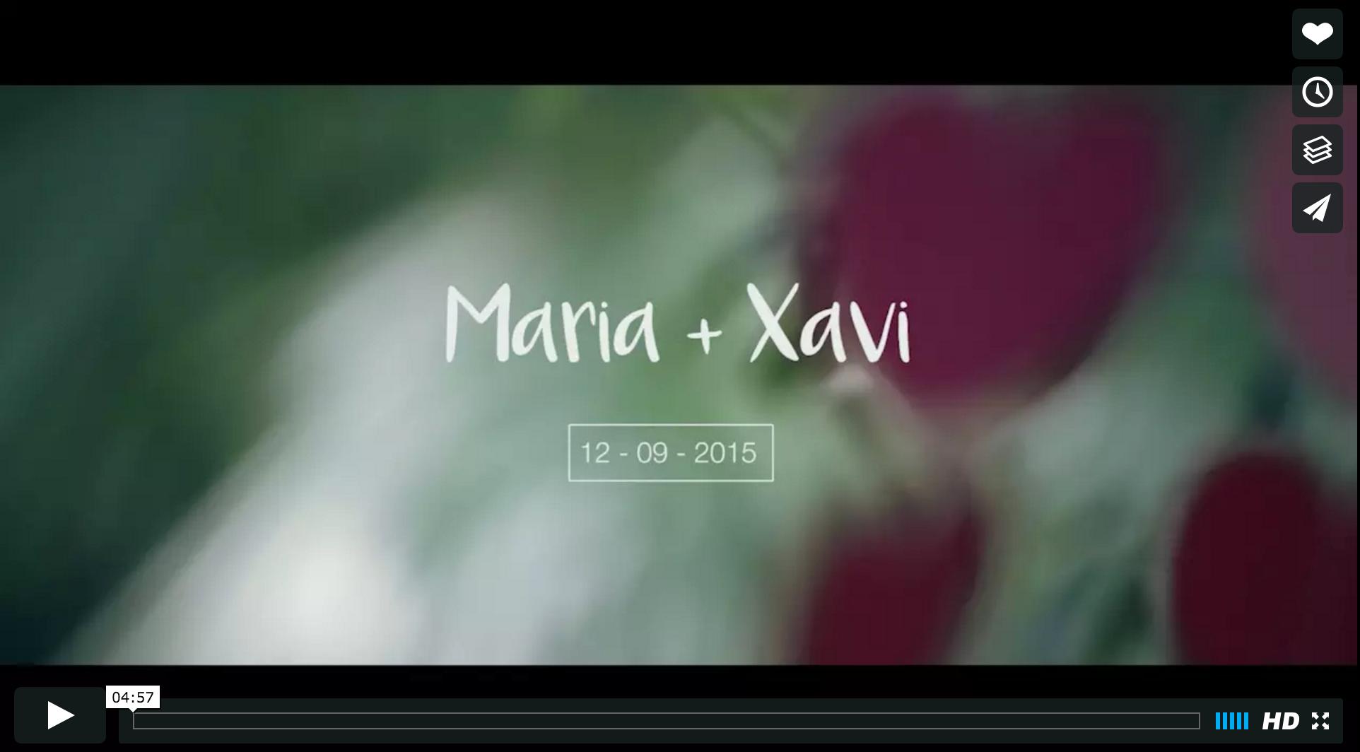 Boda Xavi y Maria.