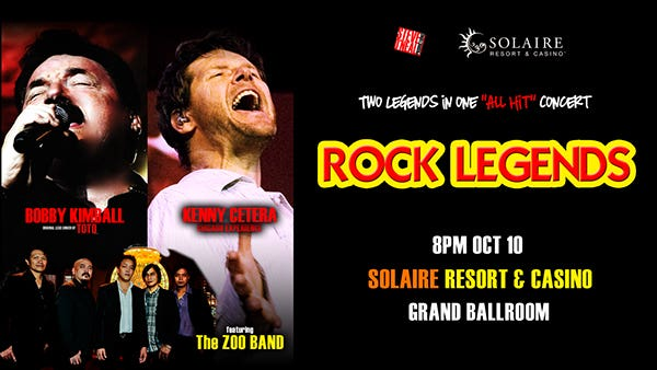 Rock Legends Digital Poster