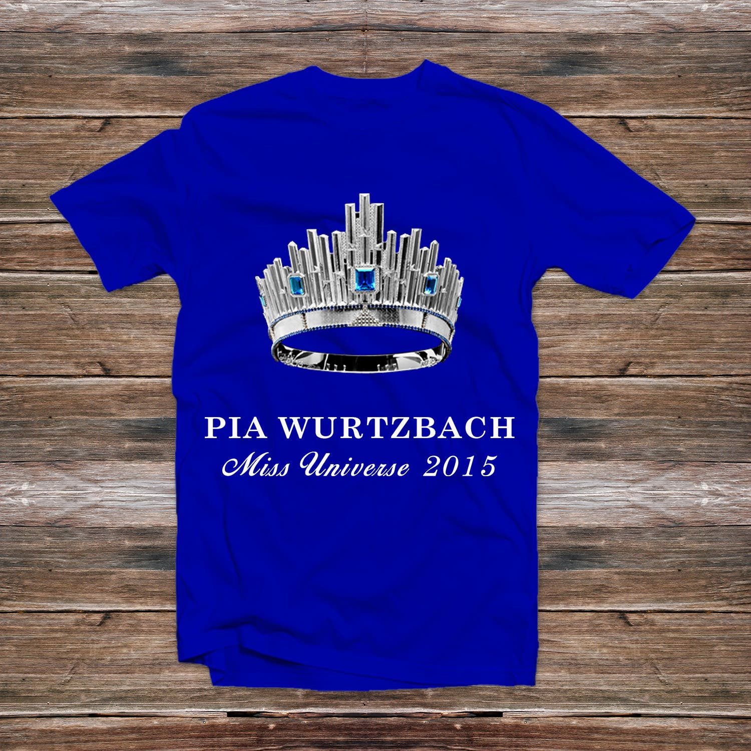 Miss Universe 2015 Pia Wurtzbach Homecoming Tshirt