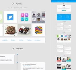 Materialize Portfolio Template