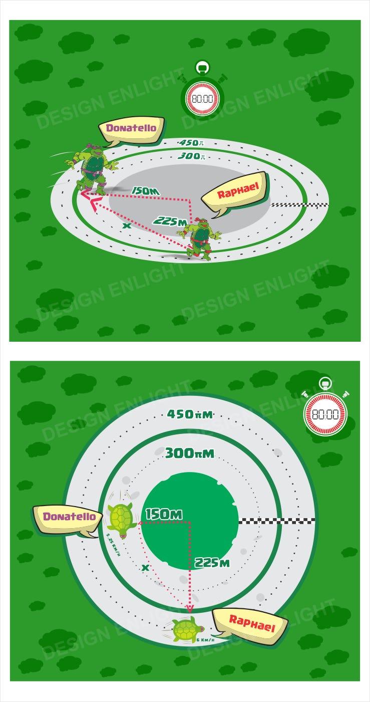 Race Track illustrate