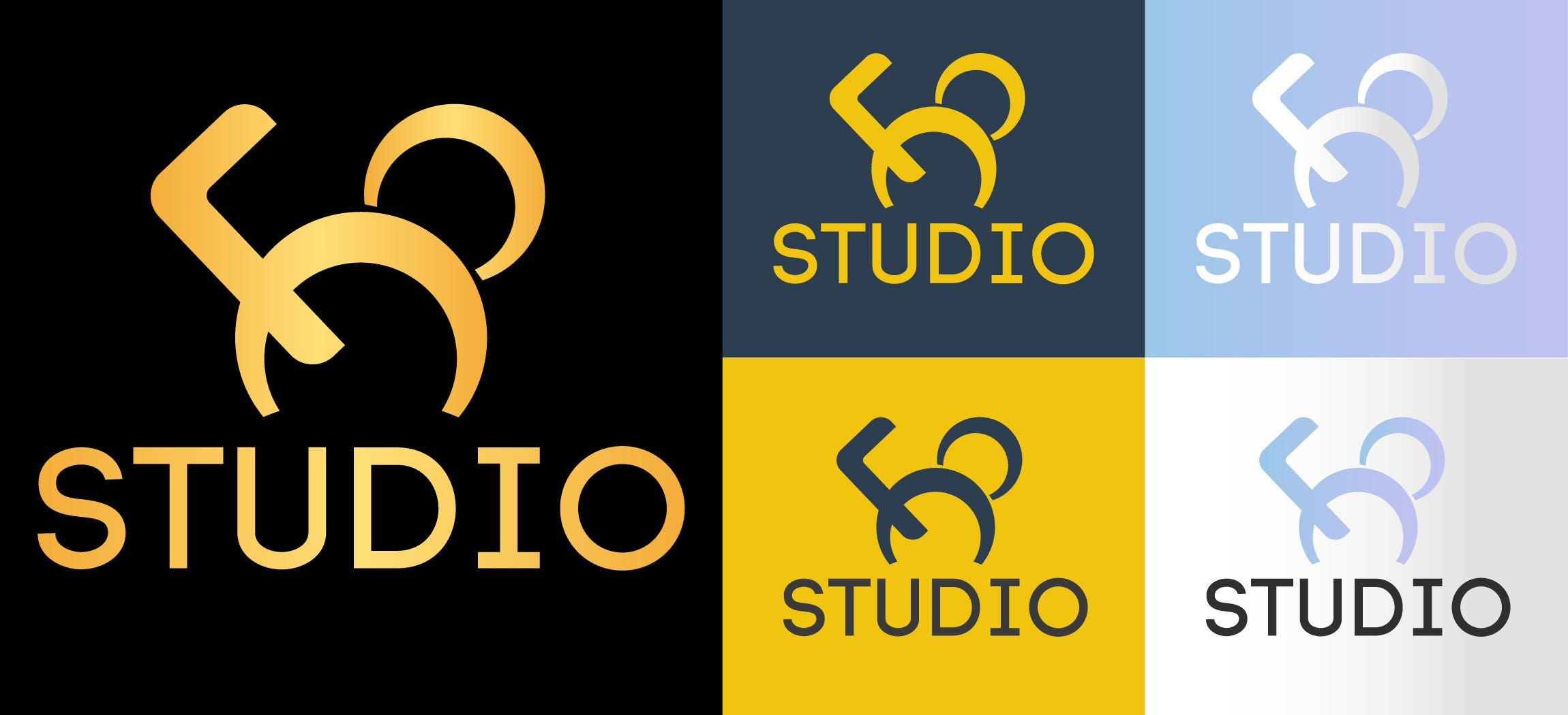 f8 STUDIO Logo Design - Angry mouse concept