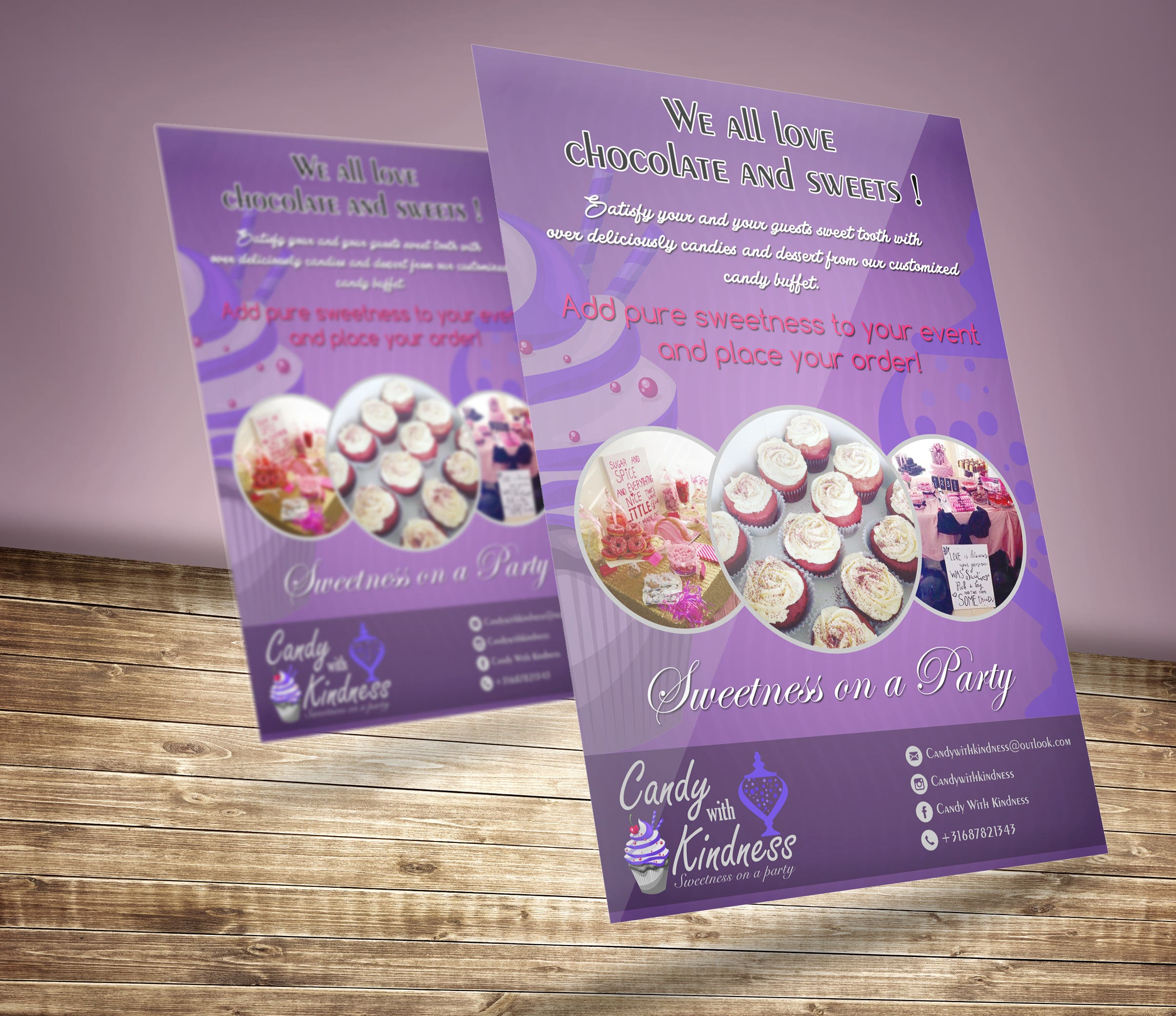 Candy with Kindness Poster & Flyer