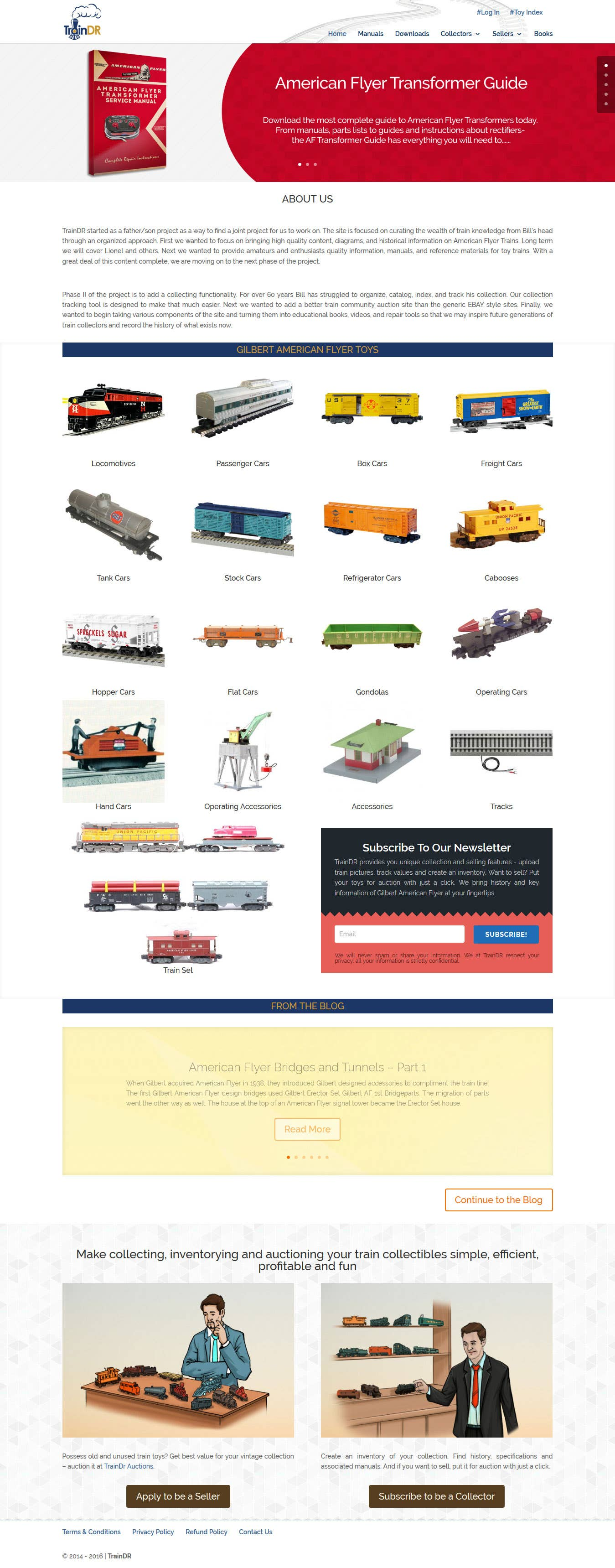 Informative and Ecommerce Website