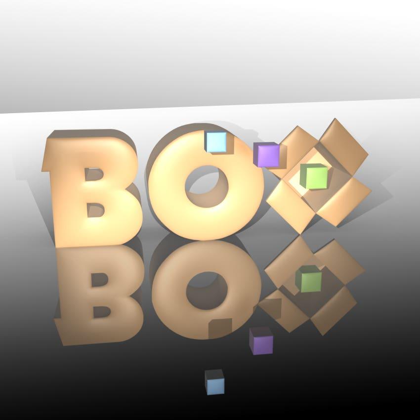 3D Box Logo