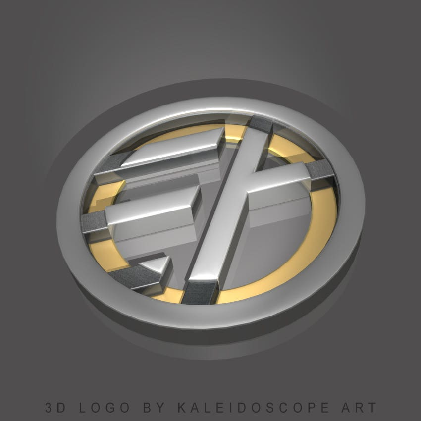 3D EA Logo