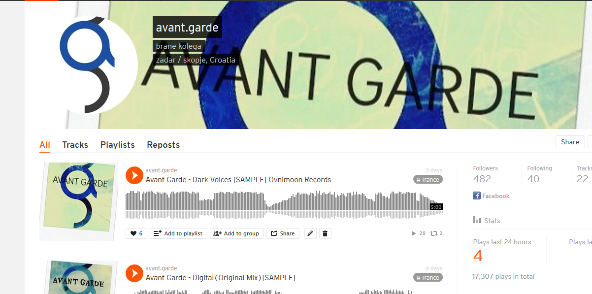 Avant Garde Music on Soundcloud