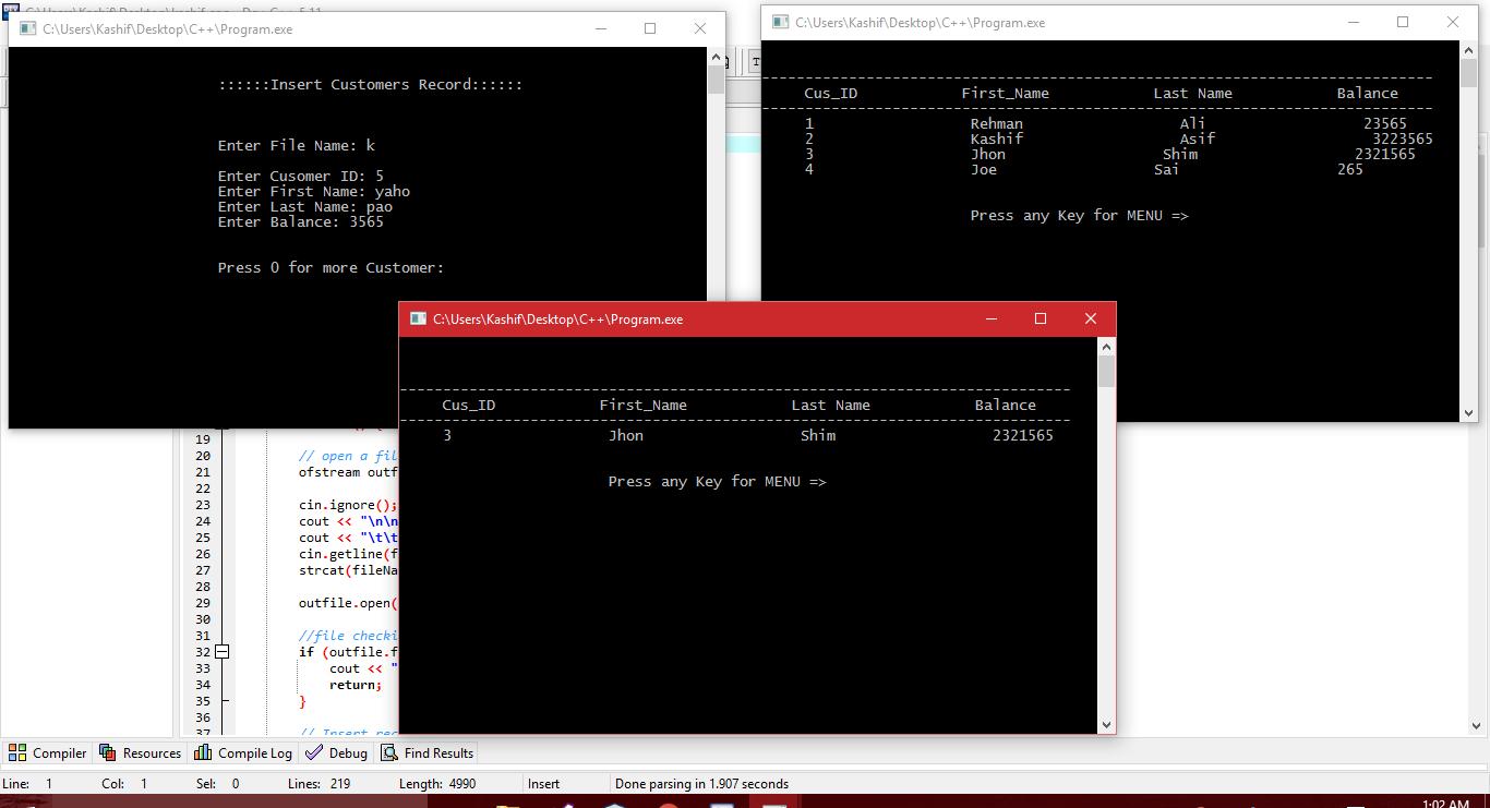 Write C++ Software