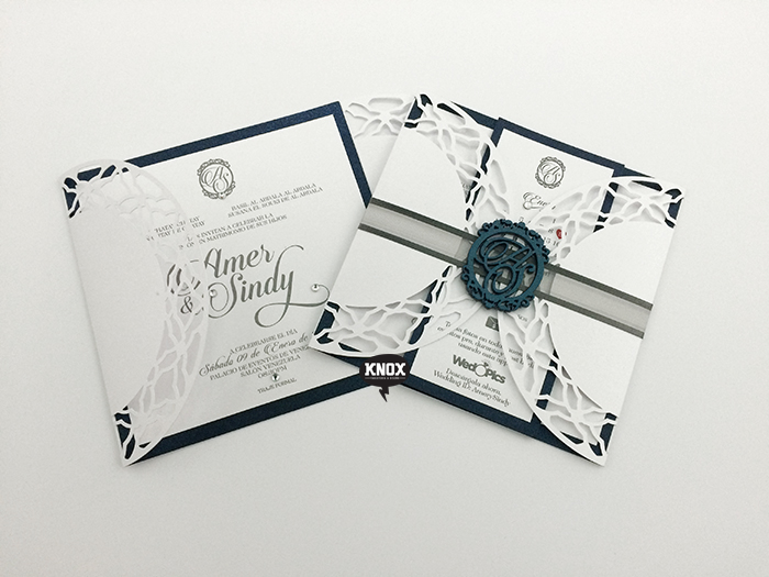 Invitation Design / Laser Cutting Design