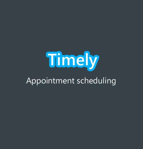Timely - Smart Booking Mobile application