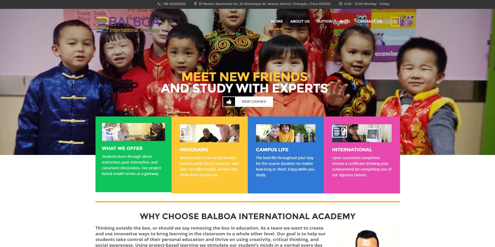 Education Based Website