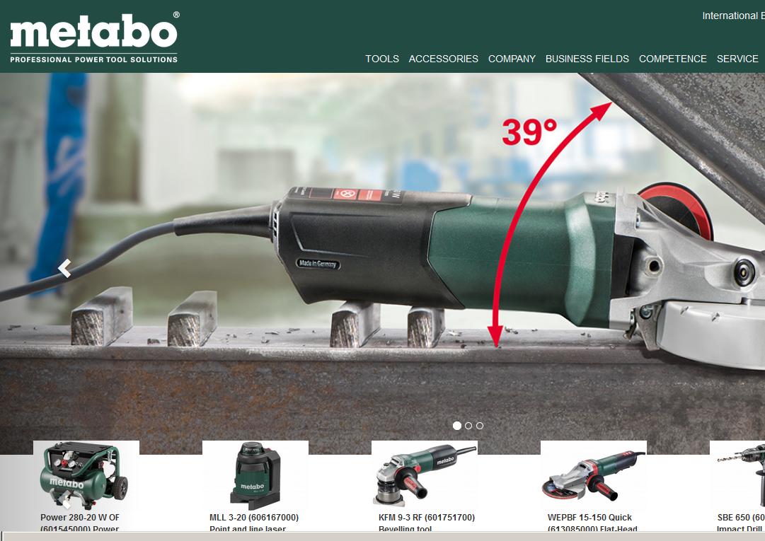 www.metabo.com