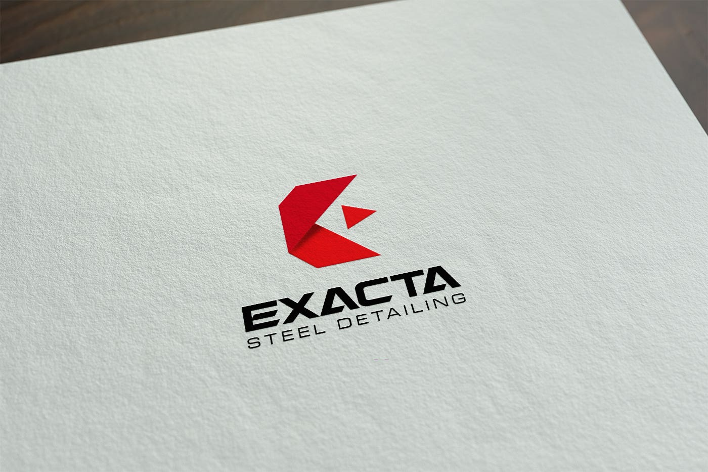 Exacta Steel Logo+Stationery+Corporate Brand Guidline