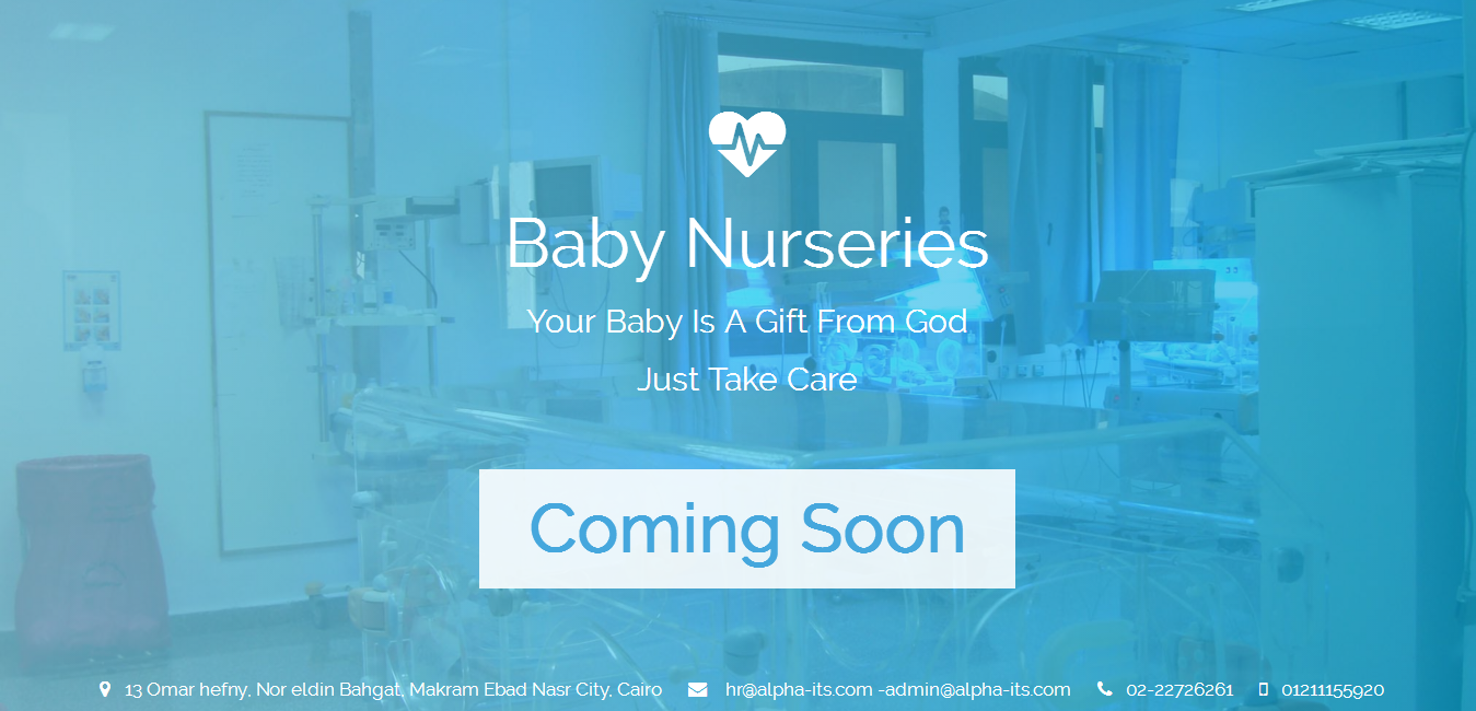 Baby Nurseries Coming Soon Page