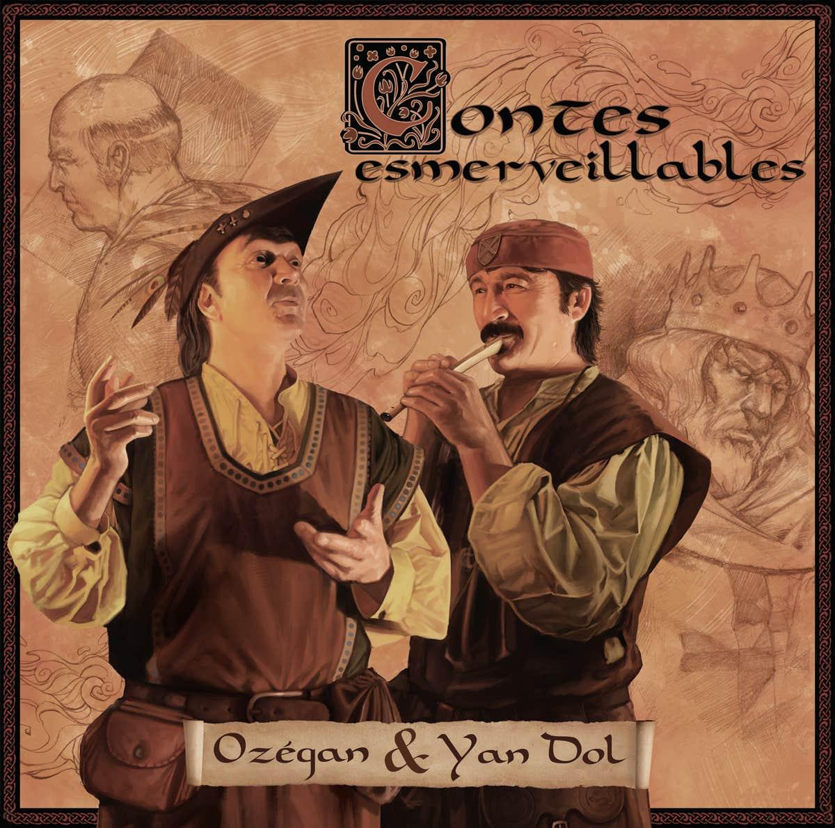 Contes Esmerveillables (commission - CD front cover)
