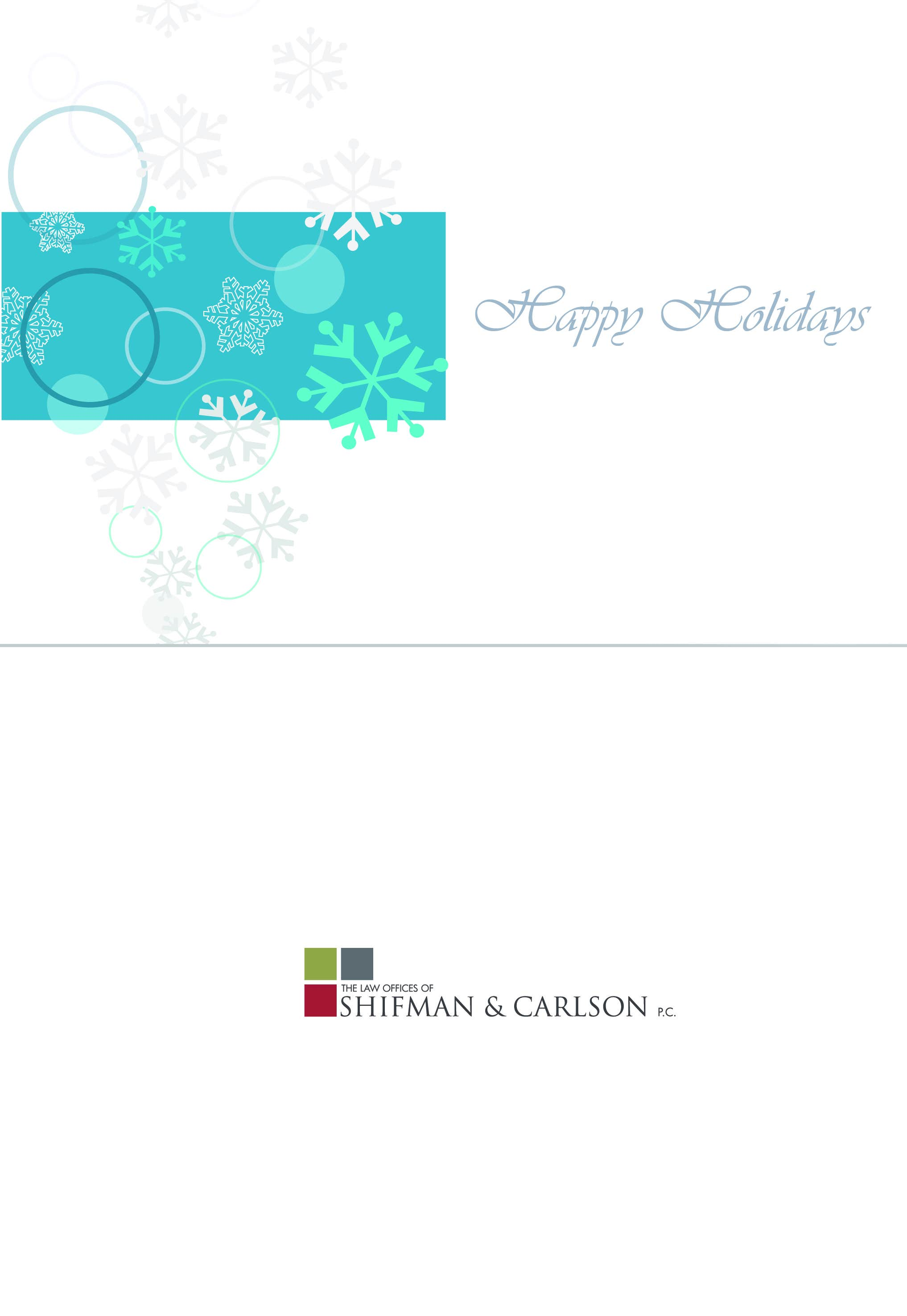 Holidays cards