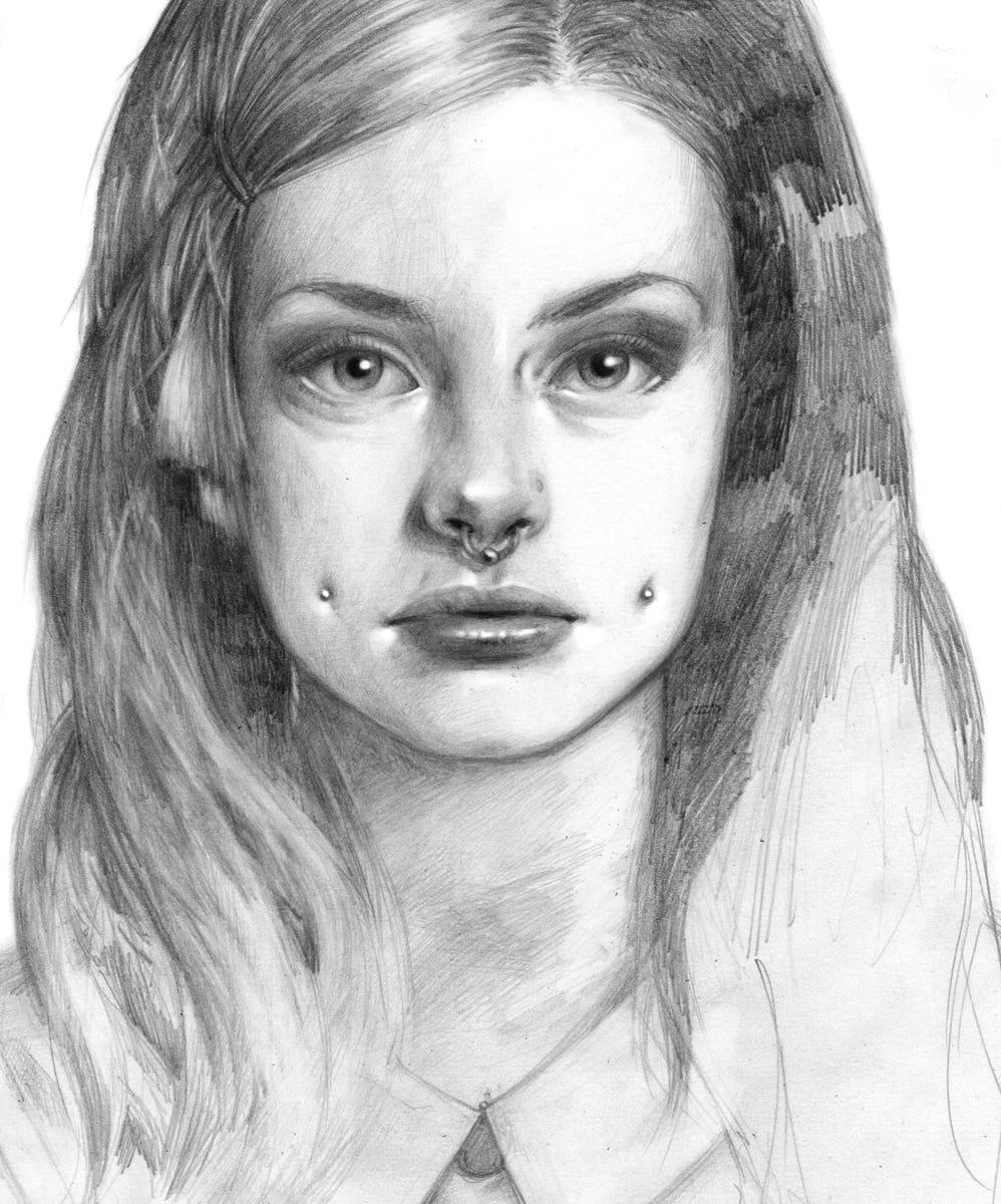 Random girl (personal work)