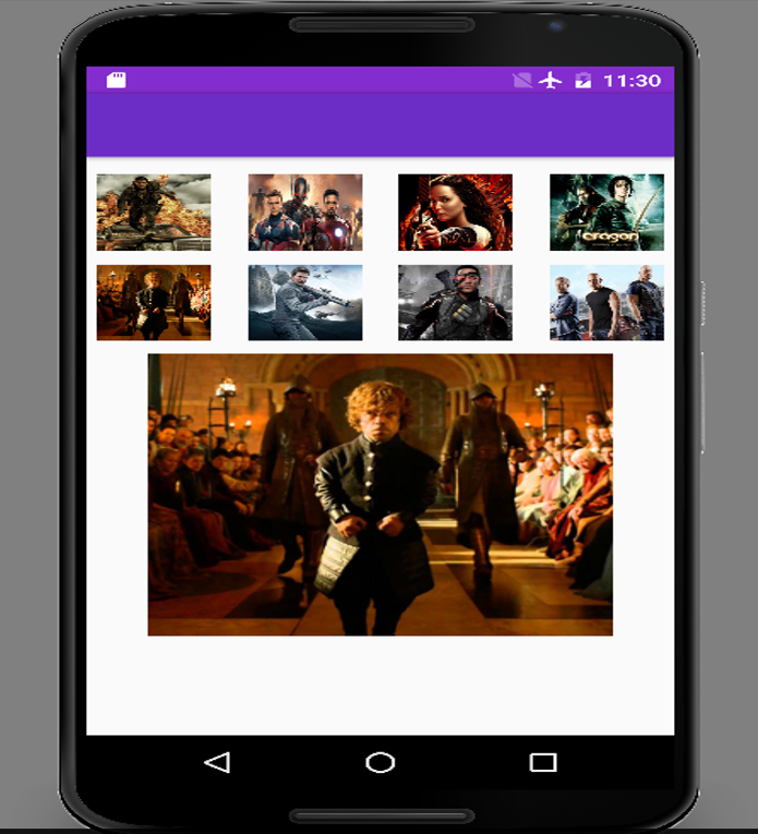 GridView Photo Gallery