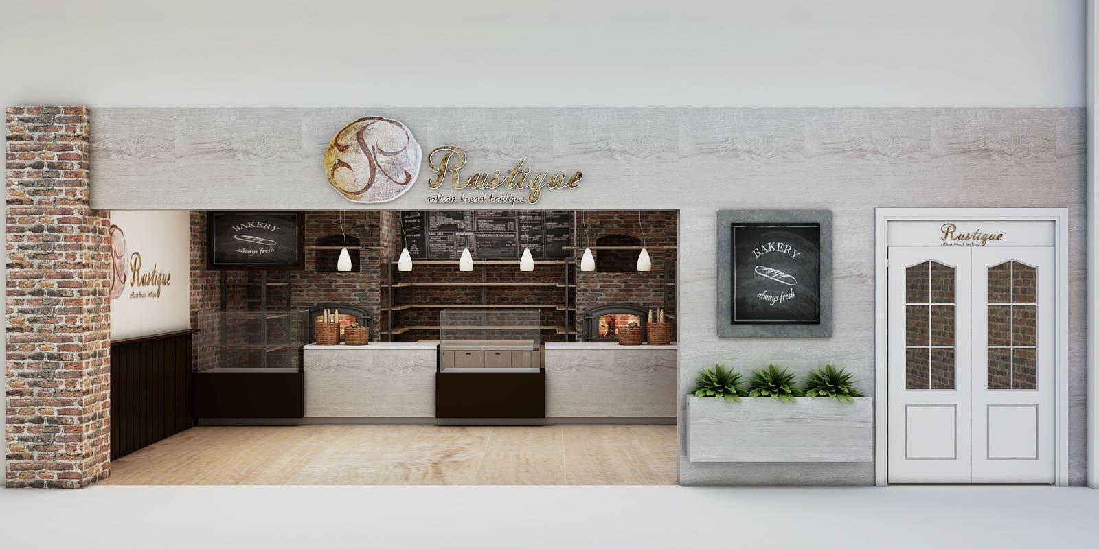 Artisan Bread Store Design