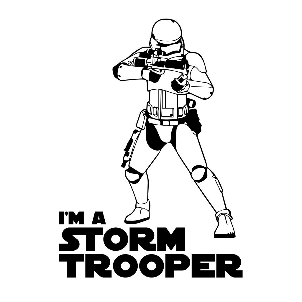 Im a storm trooper