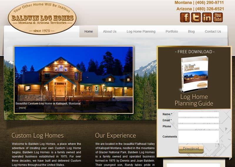 Baldwin Log Homes