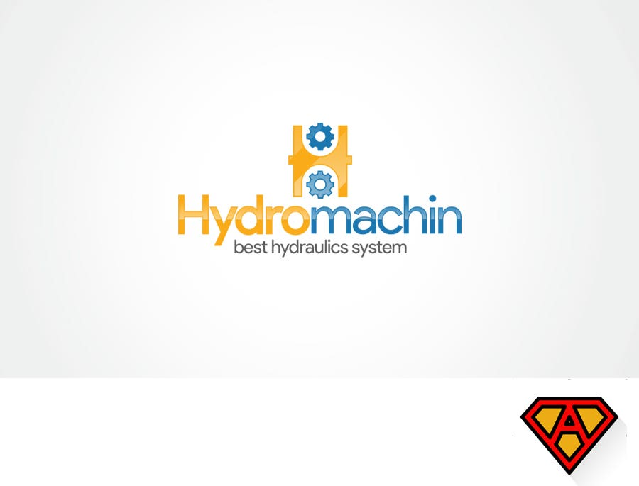 Hydromachin Logo Design