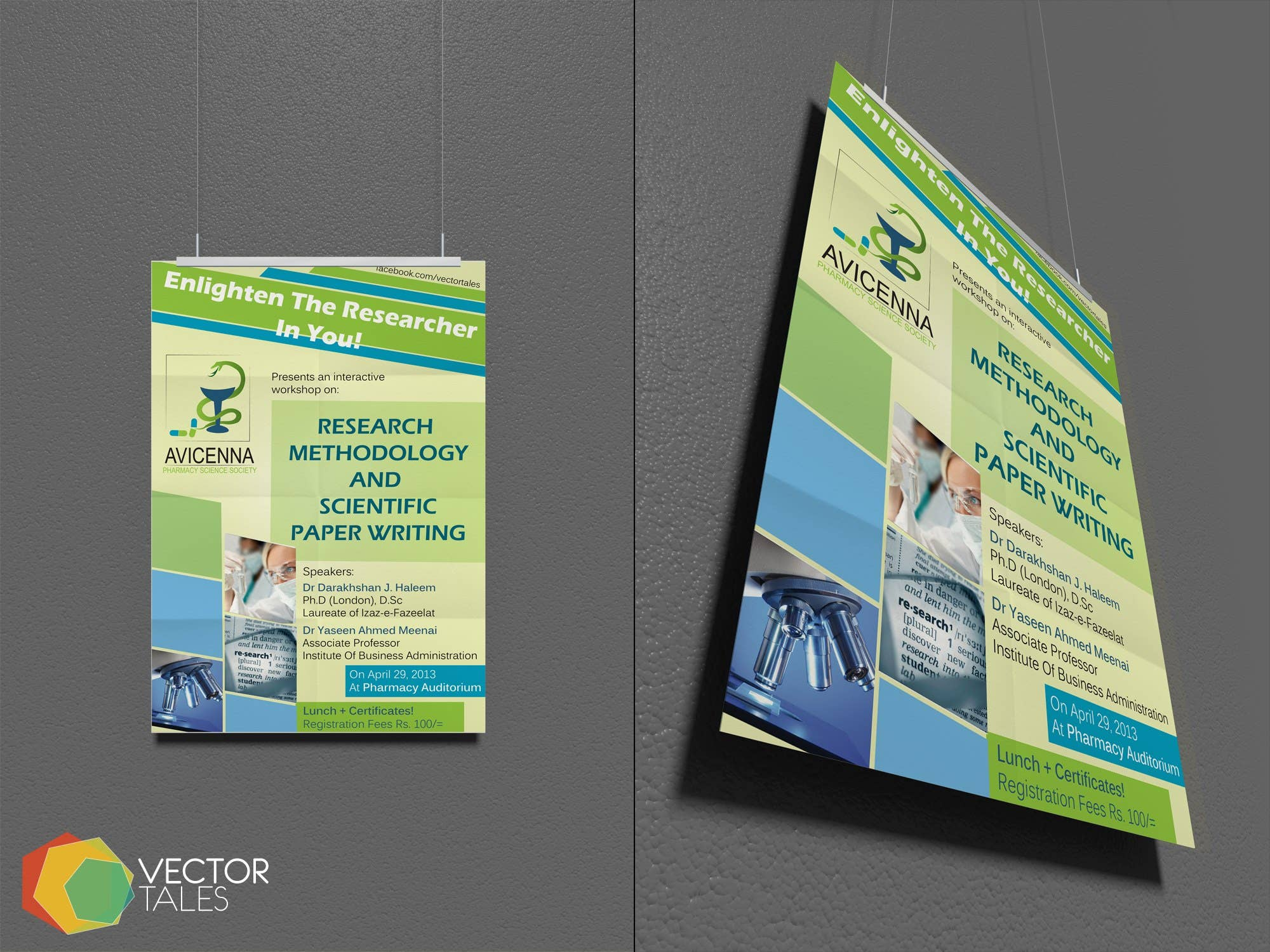 Brochure Design for AVICENNA