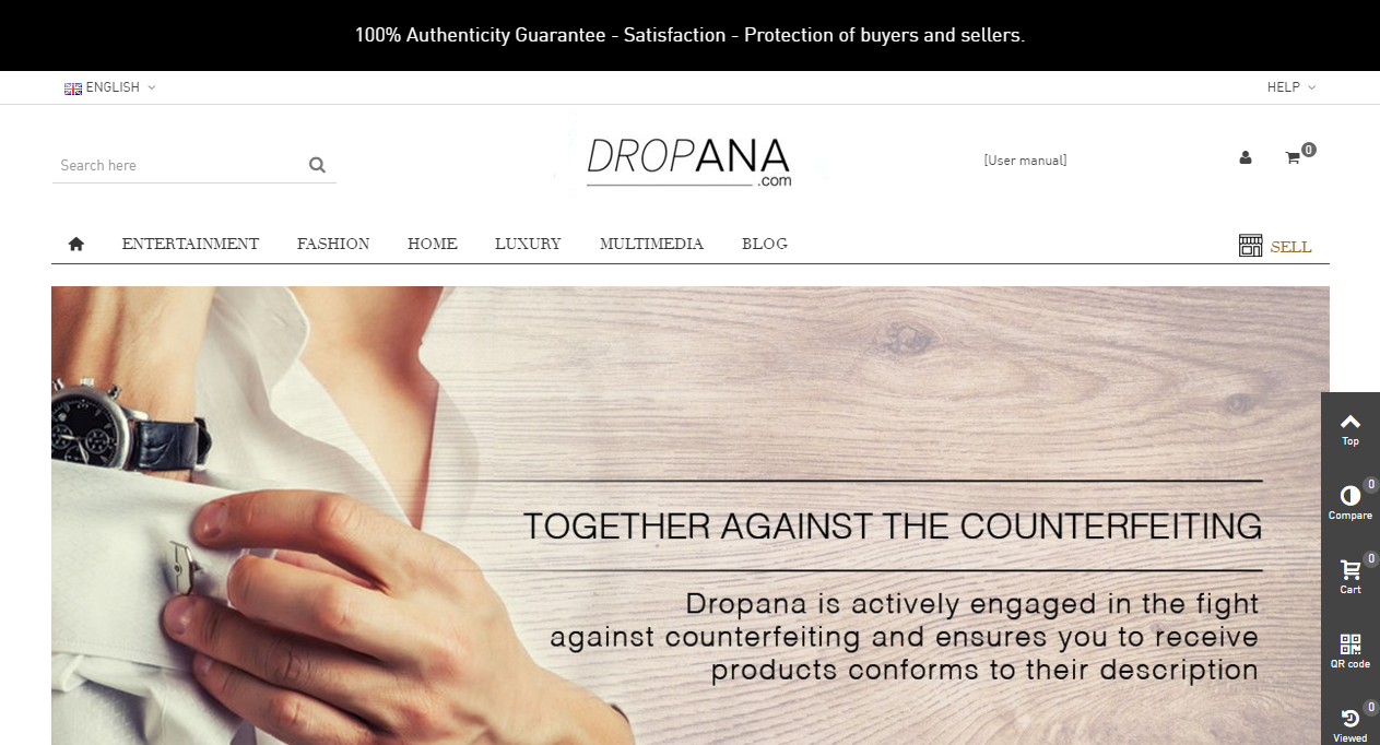 Dropana Marketplace Design