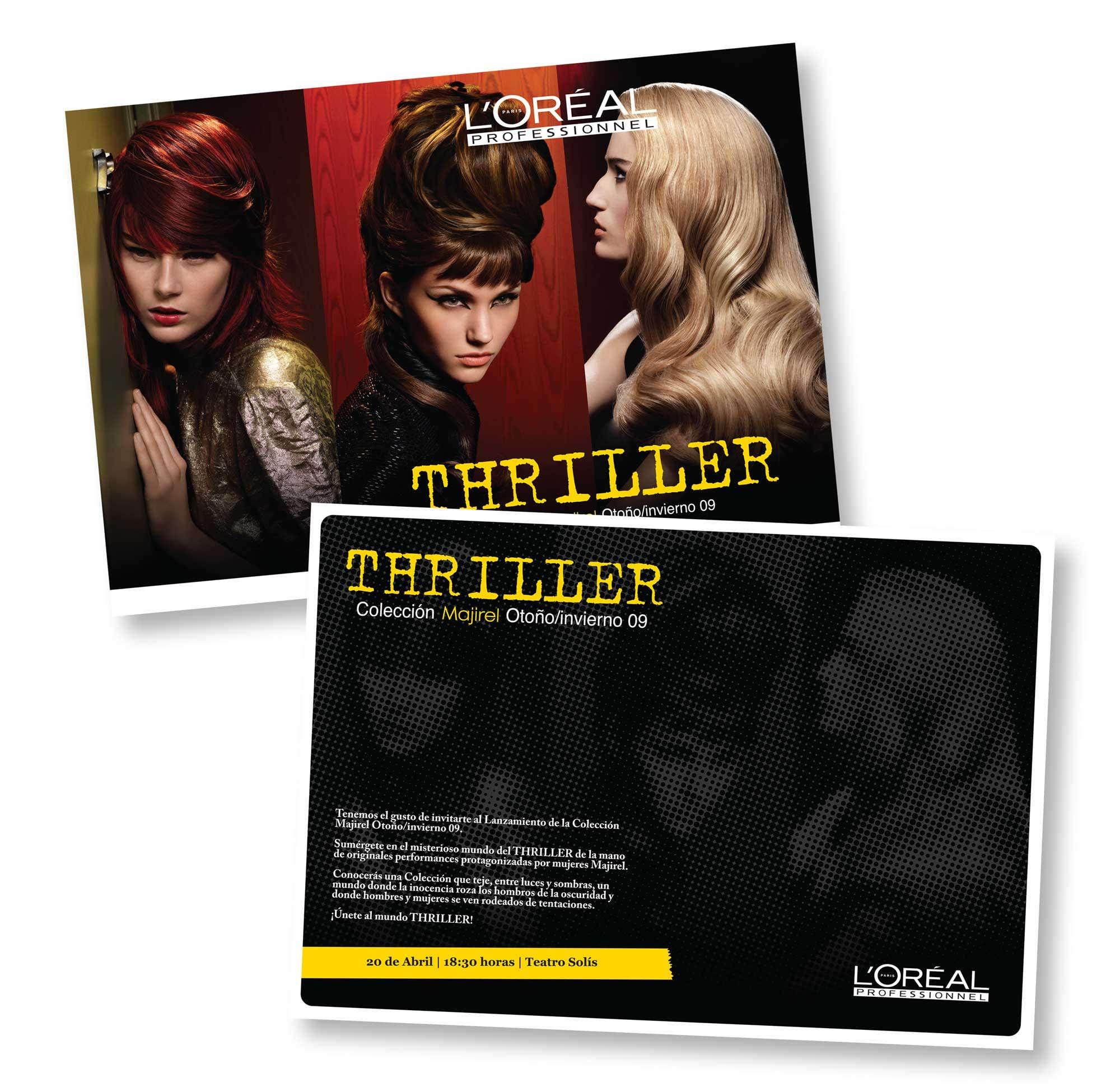 Boreal - Invitación Evento Lanzamiento Thriller