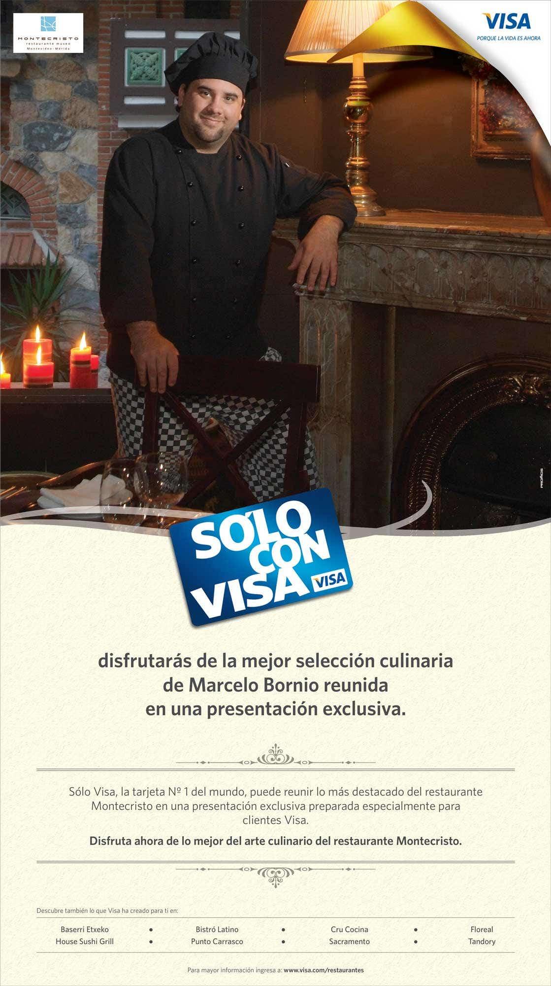 Visa - Avisos Promoción Restaurants
