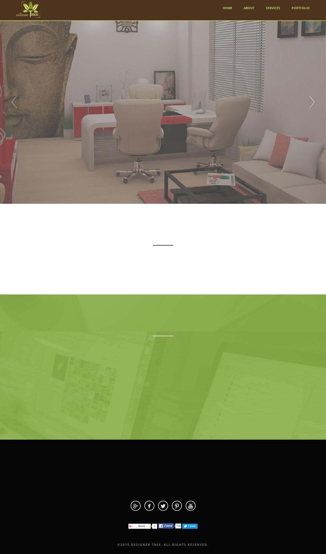 "Website for ""Designer Tree"""