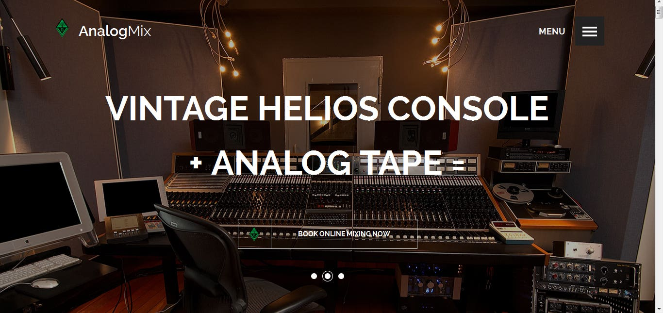 Analog Mixing Website