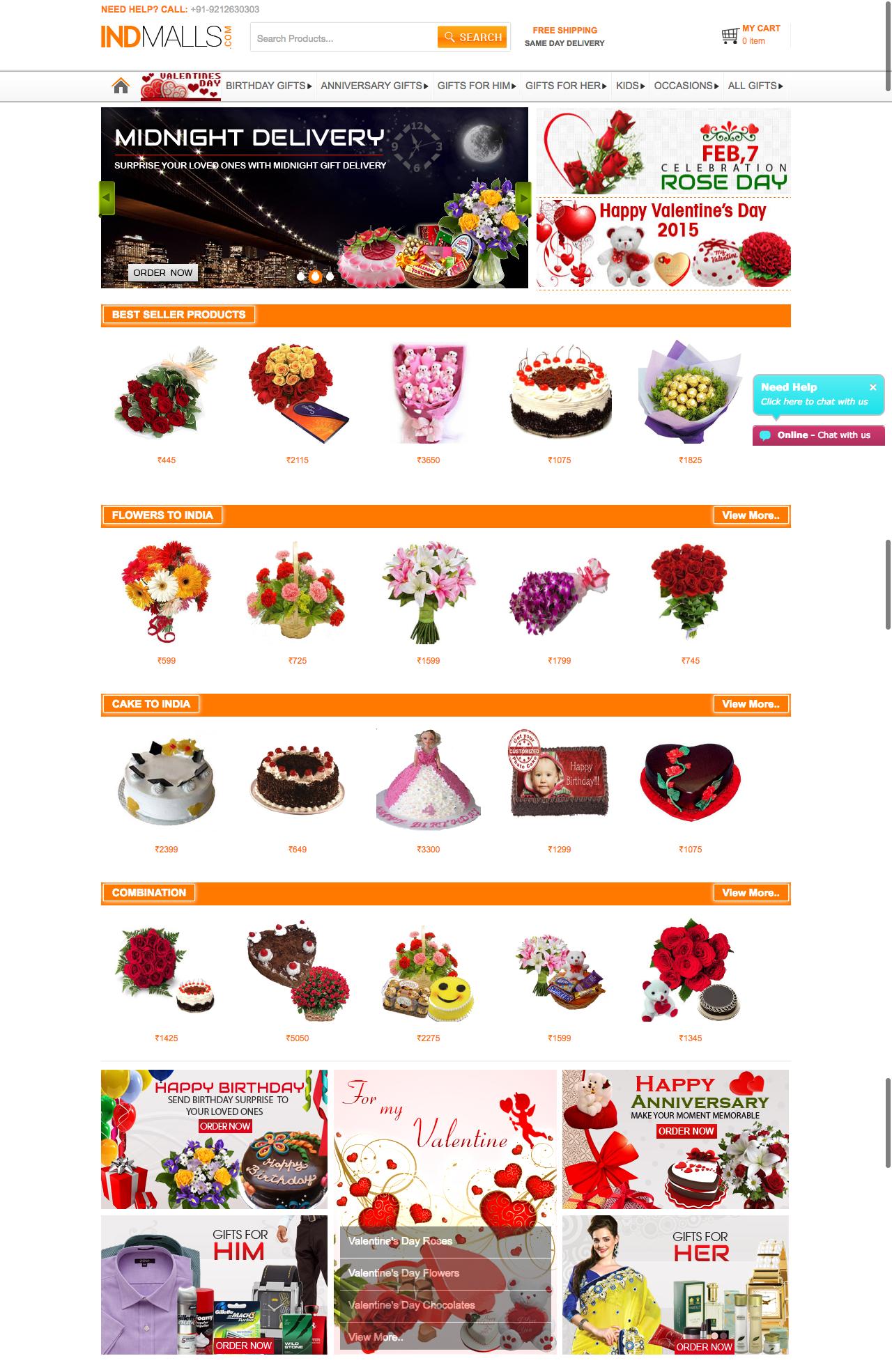 IndMalls.com - Online Gift Shopping
