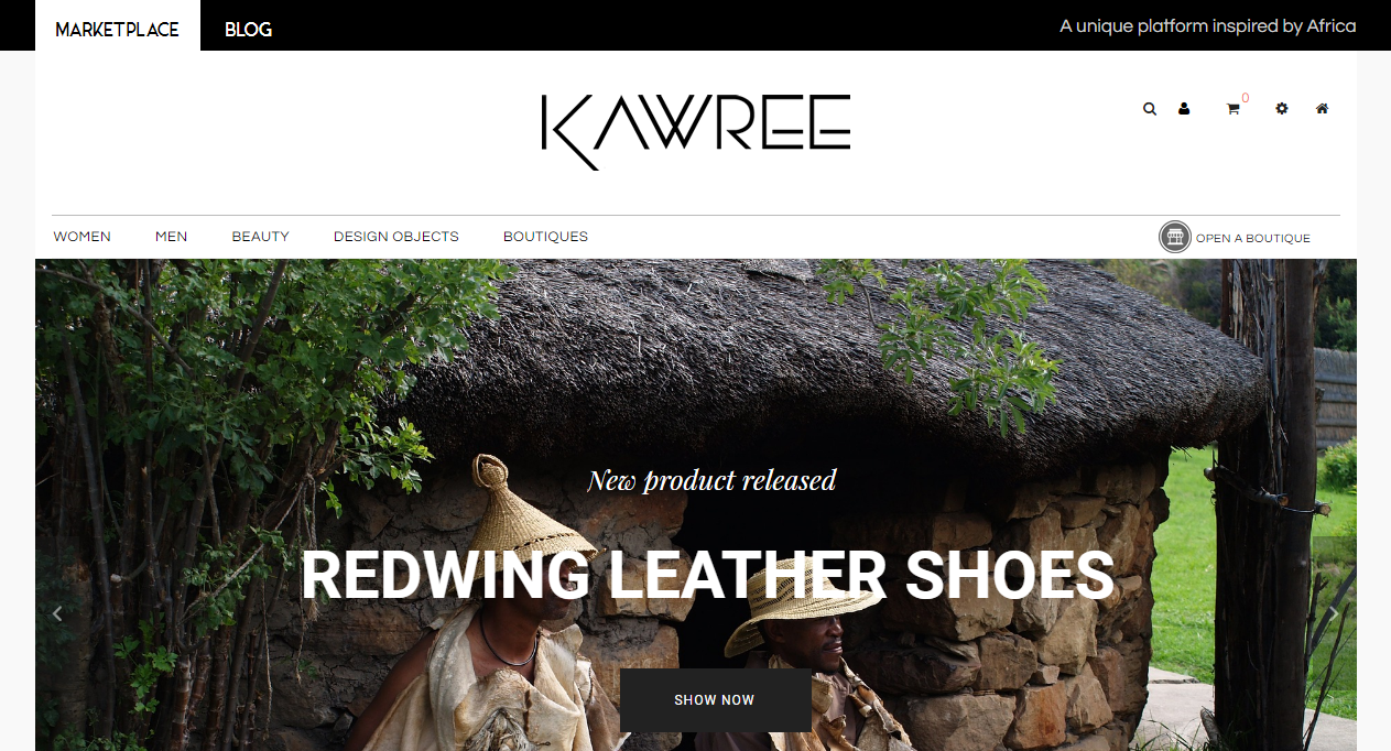 Kawree Ecommerce Marketplace Design