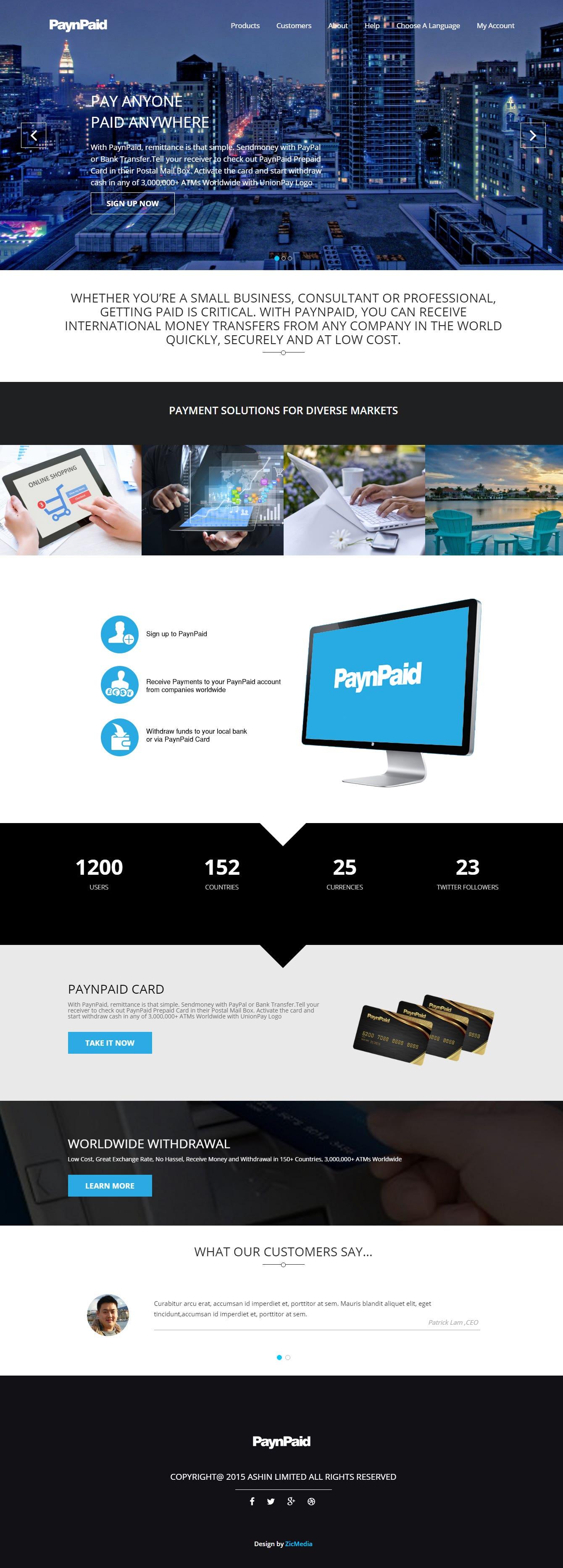 PaynPaid Project