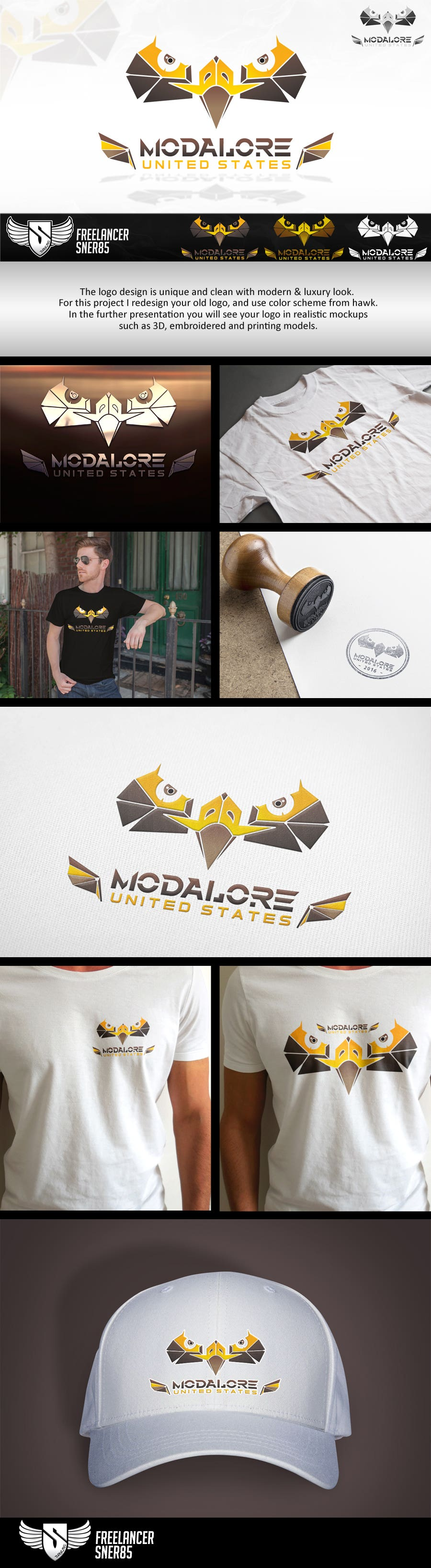 Logo design for MODALORE United States