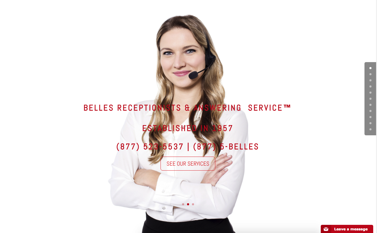 Wordpress Website for Receptionist