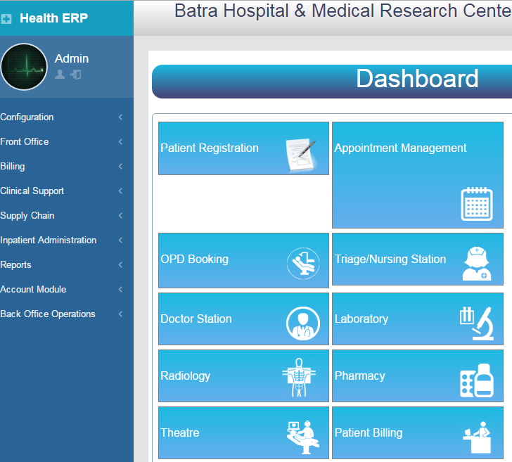 Hospital Management System(ERP)