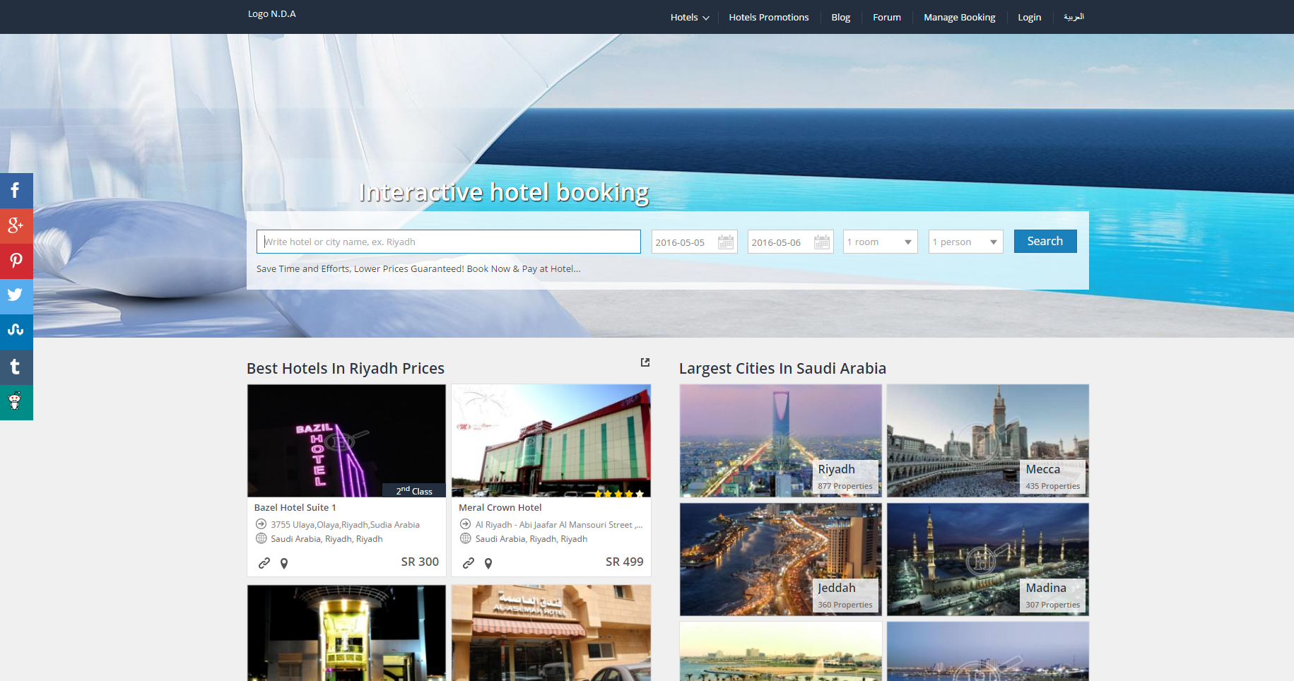 Online Hotel & Resort