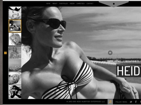 HEIDI ALBERTSEN FITNESS MAGAZINE, BODY OF THE YEAR