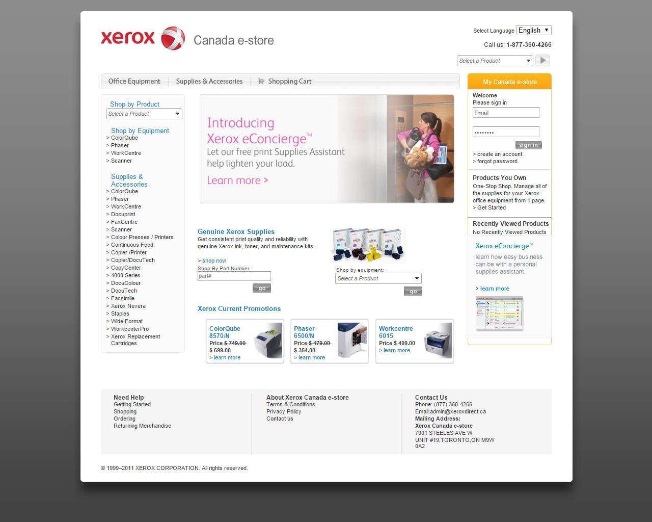 Xeroxdirect.ca