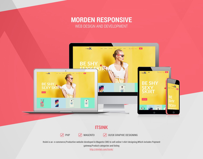 Itsink Magento website
