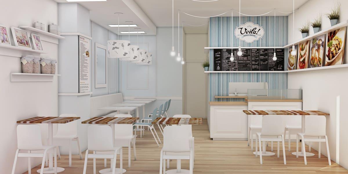 Creperie Store Design