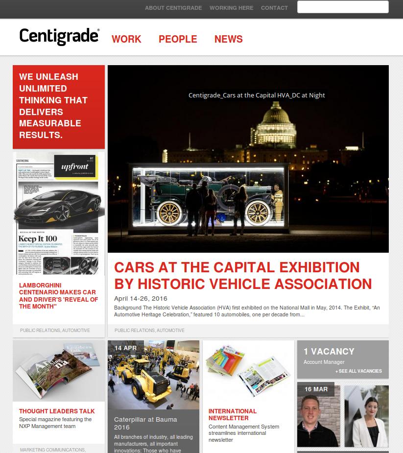 Drupal corporate portal