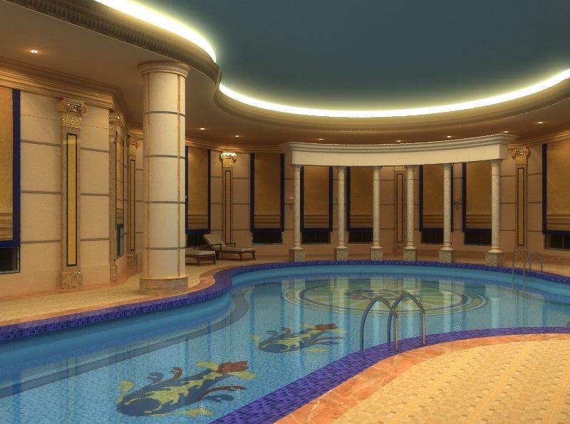 Swimming Pool. DUBAI